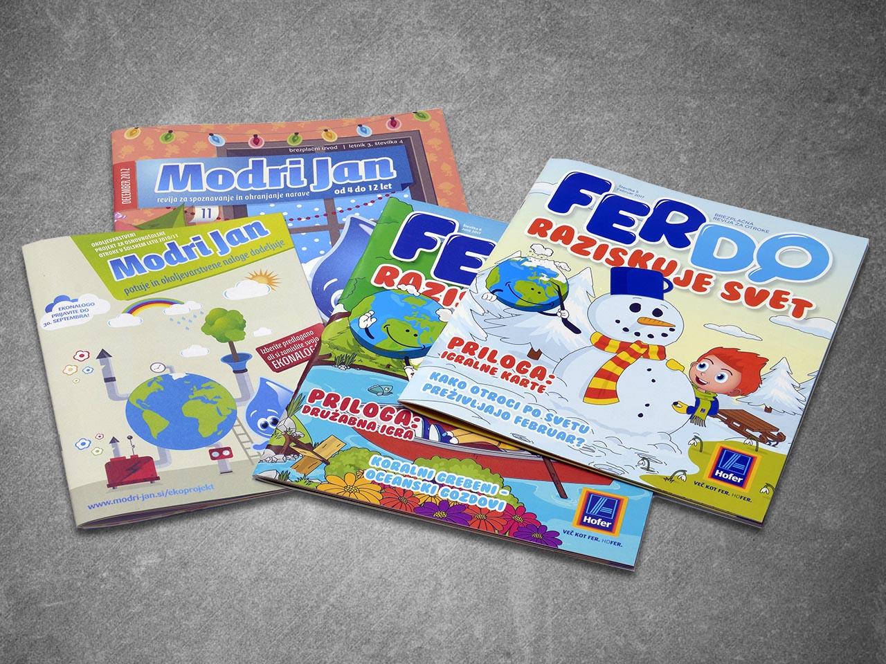 Časopisi, revije in glasila