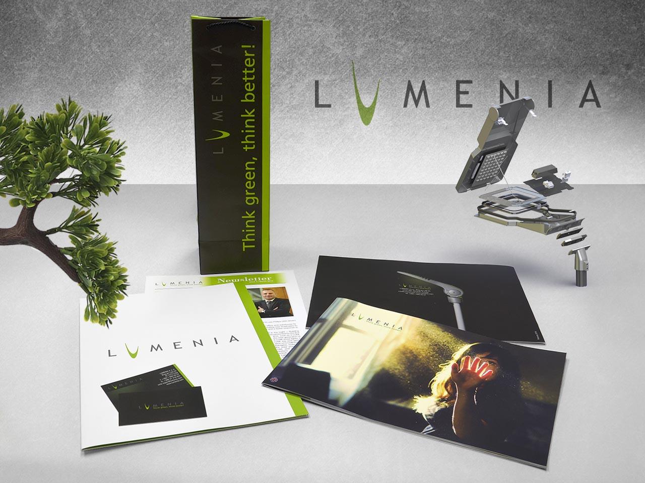Corporate identity - Lumenia