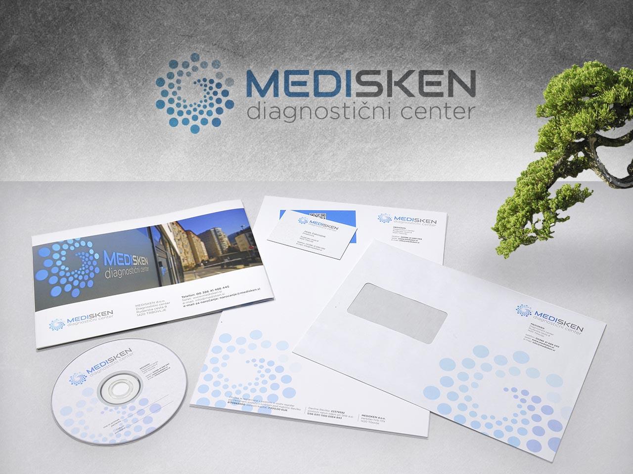 Corporate identity - Medisken