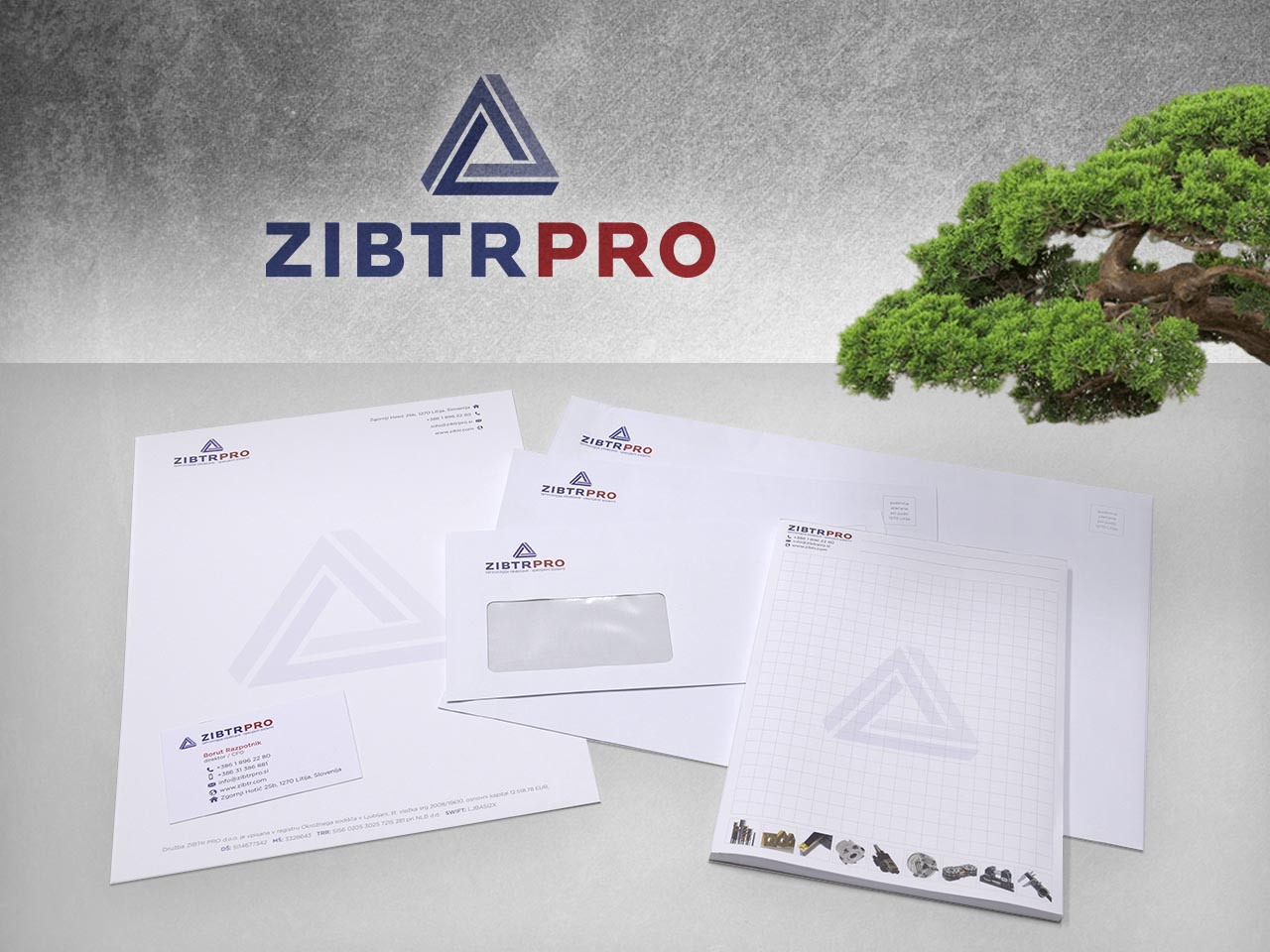 Corporate identity - ZIBTR PRO