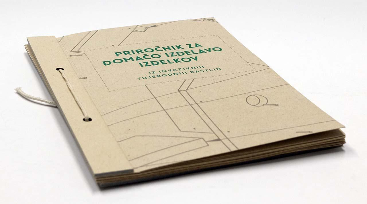 Katalog DIY narejen iz papirja invazivnih tujerodnih rastlin – projekt Applause