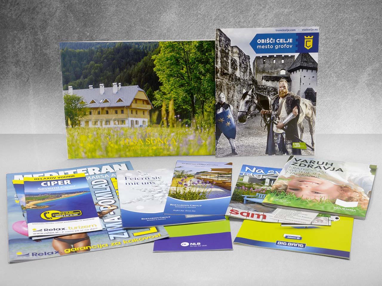 Online catalogues, pamphlets & brochures