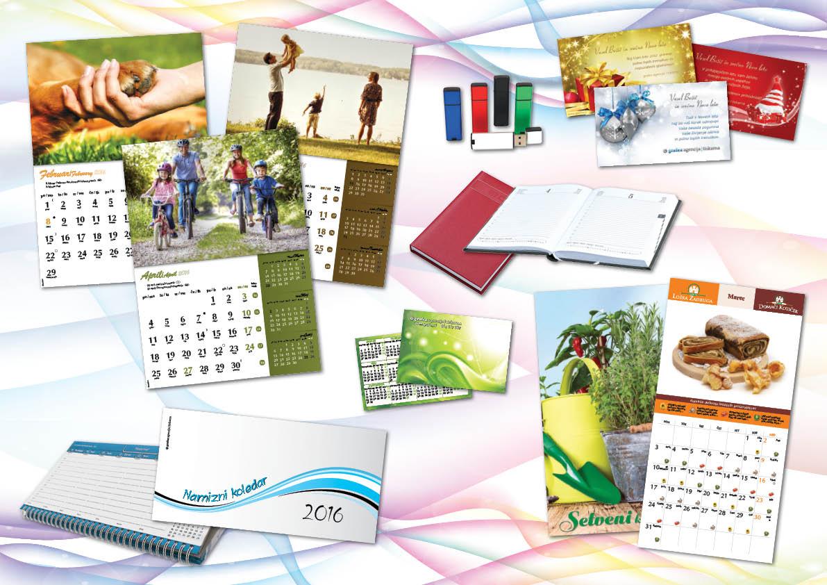 Izdaja koledarjev