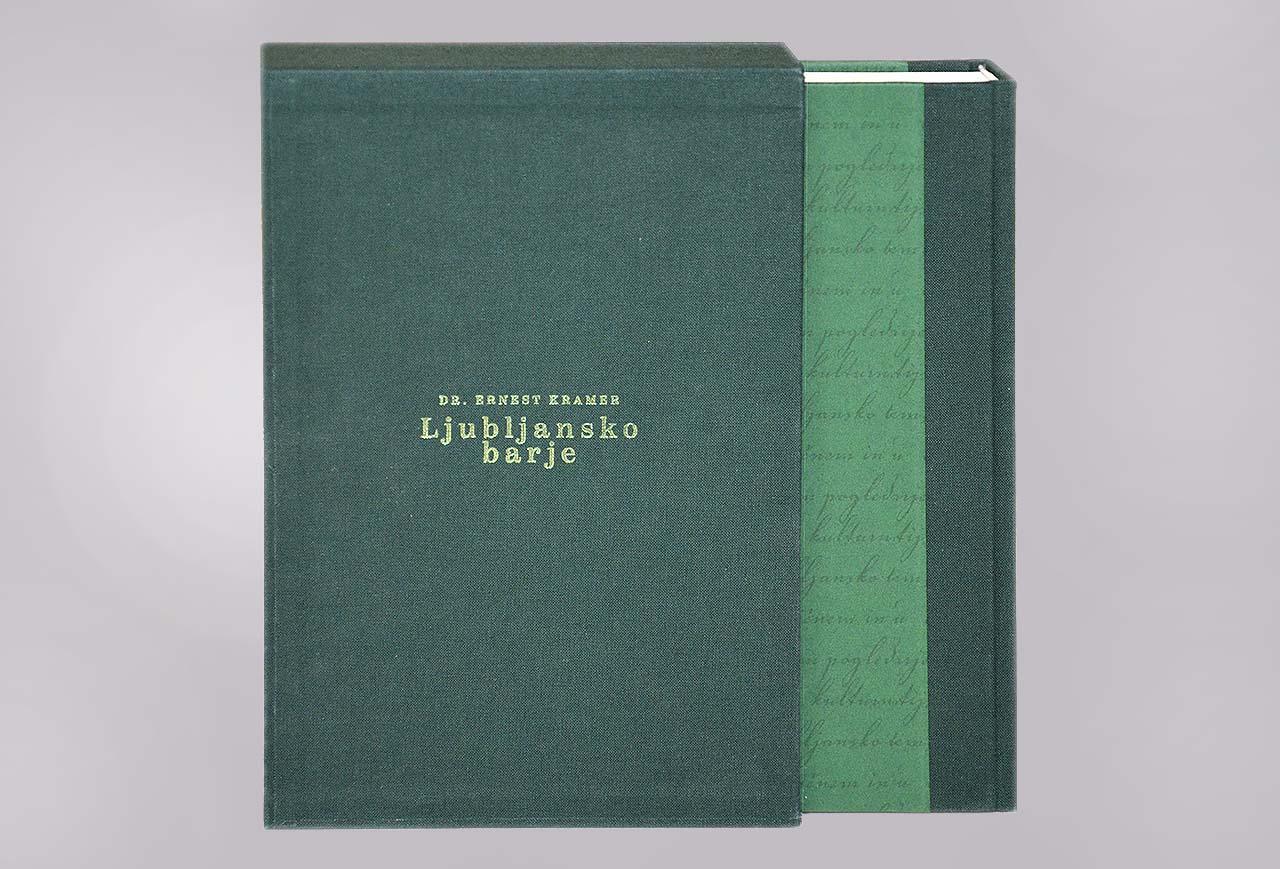 Monografija Ljubljansko barje – 120 let KIS