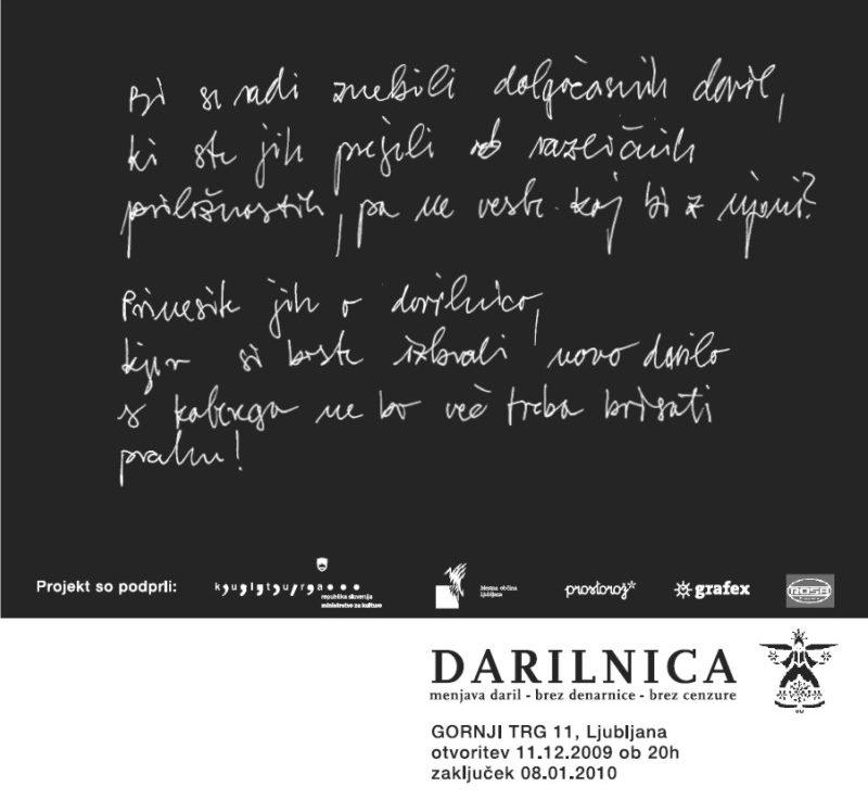 Grafex podprl projekt Darilnica