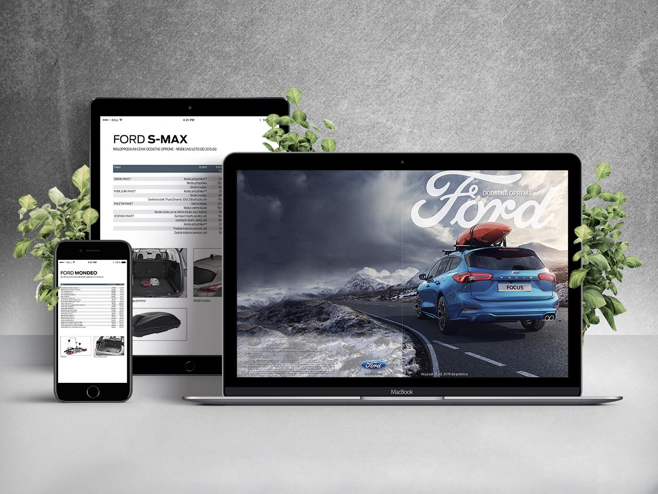Online catalogue - Ford