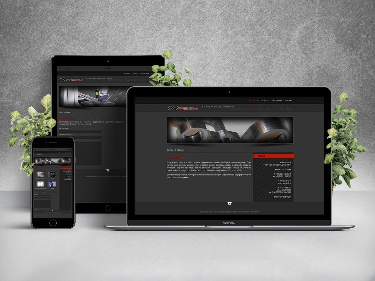 Website - Avtech d.o.o.