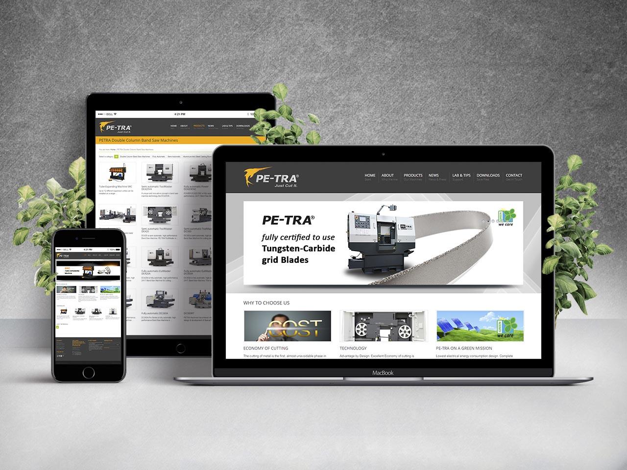Website - PE-TRA d.o.o.