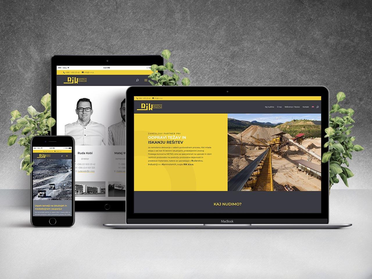 Website - RIK d.o.o.