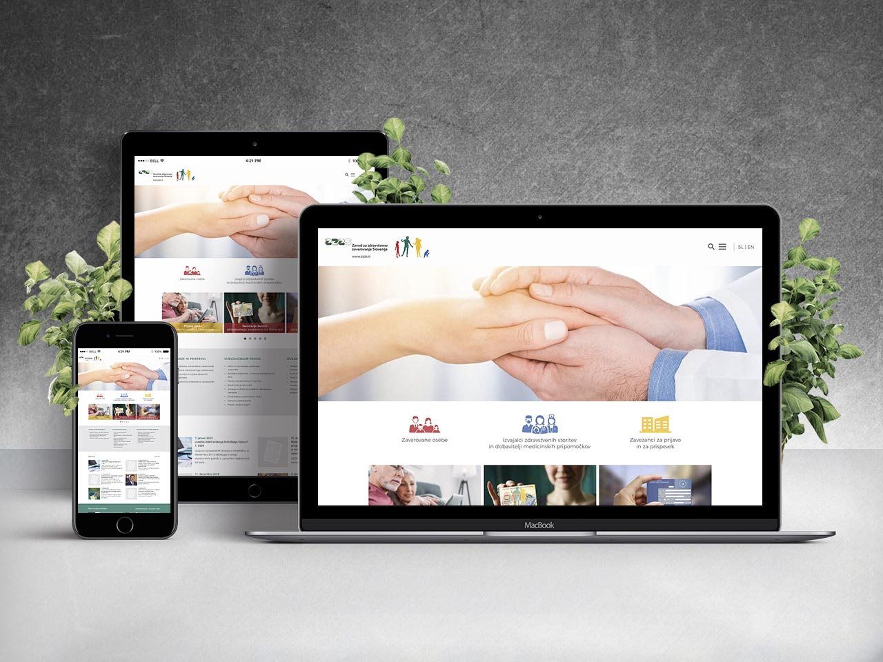 Creative design - Zavod za zdravstveno zavarovanje Slovenije